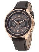 ★MASERATI WATCH★-瑪莎拉蒂手錶-經典紳士錶-黑金款-R8851101006-錶現精品公司-原廠正貨-