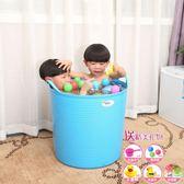 加厚超大號兒童洗澡桶 寶寶浴桶泡澡桶 塑料沐浴桶嬰兒澡盆·享家生活館IGO
