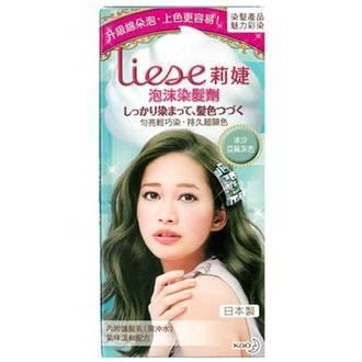 Liese 莉婕 泡沫染髮劑 魅力彩染系列 冰沙亞麻灰色