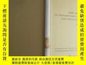二手書博民逛書店Some罕見Properties of Differentiab
