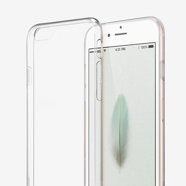 【Aguchi 亞古奇】 Apple蘋果 iPhone 6 Plus /6s Plus (5.5吋) 超薄TPU透明軟式手機殼/保護套