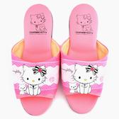 童鞋城堡- Charmmy Kitty 成人款室內拖鞋CK2706-粉