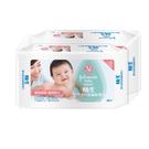 嬌生嬰兒溫和潔膚柔濕巾 - 80片2包組...
