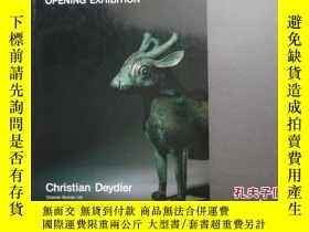 二手書博民逛書店Christian罕見Deydier 1987 Opening