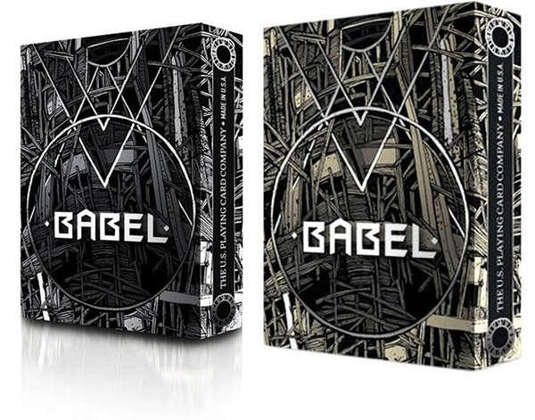 【USPCC撲克】Babel PLAYING CARDS made by USPCC 黑棕色/黑白色