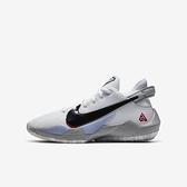 Nike Freak 2 (gs) [CN8574-100] 大童鞋 運動 籃球 緩衝 靈敏 輕量 親子 穿搭 白 黑