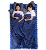 聖誕狂歡 迷你睡袋成人春夏季室內薄款旅行戶外隔臟便攜睡袋超輕露營內膽
