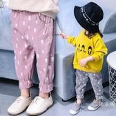 寶寶夏季裝褲子0兒童長褲1百搭2女童燈籠褲3寬鬆4歲女寶洋氣打底褲