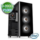 技嘉Z390平台【破淨彩繪】i9八核 P1000-4G繪圖獨顯 SSD 480G效能電腦