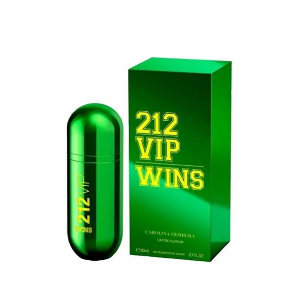 Carolina Herrera CH 212 VIP WINS 綠色奇蹟 限量版 女性淡香精 80ml【UR8D】