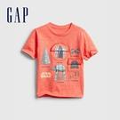 Gap男幼童 Gap x Star Wars星際大戰系列印花短袖T恤 681414-橘紅色