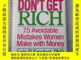 二手書博民逛書店Nice罕見Girls Don t Get Rich 精裝Y385290 Lois P. Frankel, P