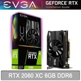 【免運費-限量】EVGA 艾維克 RTX 2060 XC 6GB DDR6 顯示卡 06G-P4-2063-KR