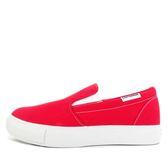 Converse All Star Core Slip Platform [552830C] 女鞋 休閒 百搭 帆布 紅