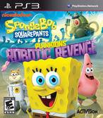 PS3 SpongeBob SquarePants: Plankton s Robotic Revenge 海綿寶寶:皮老闆機器人復仇記(美版代購)