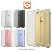 Case Cube APPLE IPHONE 6 4.7吋 金粉 TPU軟殼 後背包覆殼