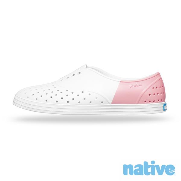 native JERICHO BLOCK台灣限定款修身鞋-玫瑰粉晶(女)
