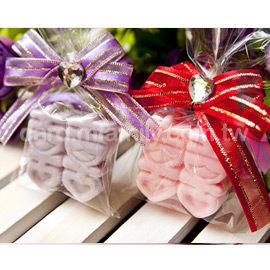 婚禮小物-精巧單包裝囍字皂X100 -送客禮/抽獎/贈品/來店禮/二次進場 幸福朵朵