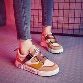 運動鞋 運動鞋女韓版ulzzang百搭原宿學生火焰zipper鞋   琉璃美衣