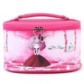韓版大號卡通女生化妝包 便攜式防水化妝品收納包洗漱包《小師妹》jk144