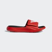 Adidas Alphabounce Slide [F34773] 男鞋 拖鞋 涼鞋 雨鞋 水鞋 戲水 海邊 愛迪達 紅