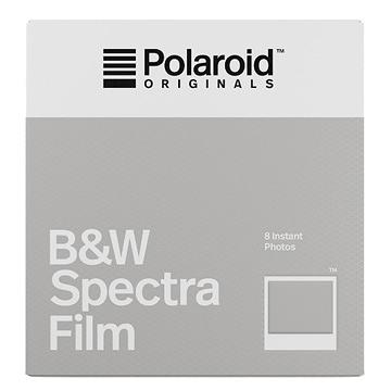 【過期品】Polaroid B&W Film for Spectra 黑白底片(白框4679)/2盒
