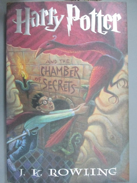 【書寶二手書T1/一般小說_XDB】Harry Potter and the Chamber of Secrets_J.K. Rowling