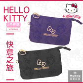 Hello Kitty 零錢包 快意之旅 印花 金屬 凱蒂貓 三層錢包 KT01R09 得意時袋