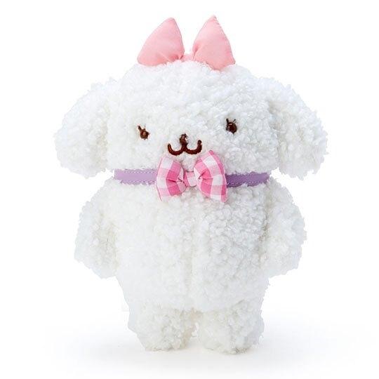 〔小禮堂〕布丁狗 瑪可蘿 換裝絨毛玩偶娃娃《S.白粉》擺飾.玩具.換裝娃娃 4901610-88045