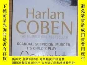 二手書博民逛書店英文原版罕見Caught by Harlan Coben 著Y1