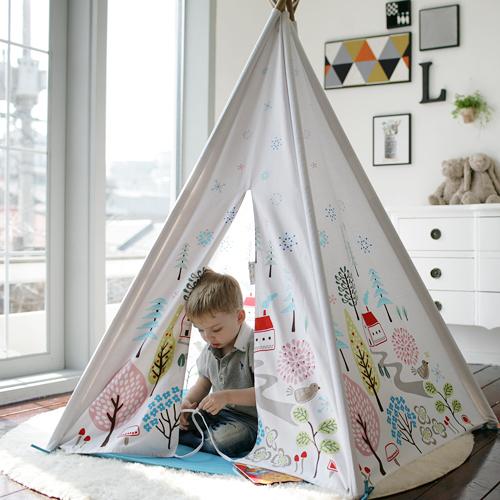 Cuna Tent 成長美學小木屋(挪威森林小鎮)/遊戲帳篷【預購品 3/30 出貨】[衛立兒生活館]