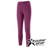 PolarStar 女 排汗保暖長褲『紅紫』P15402