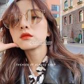 2020韓版潮復古金屬女茶色帥氣墨鏡港味網紅太陽鏡抖音眼鏡 color shop
