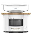金時代書香咖啡 Oceanrich S2 單杯旋轉萃取咖啡機 木紋款系列 白色 S2-01OVW