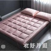 床墊防滑加厚保護被軟墊折疊床褥1.5m QW7446【衣好月圓】