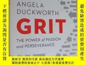 二手書博民逛書店Grit:The罕見Power of Passion and Perseverance 英文原版 16開Y14