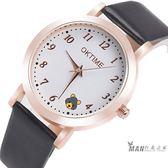 韓版中小學生手錶女童防水電子石英錶兒童手錶女孩男孩可愛卡通錶 全館免運