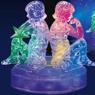 3D立體水晶拼圖 12星座 立體拼圖 (雙子座-發光) 聖誕節 交換禮物 情人 生日-艾發現
