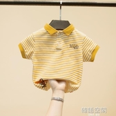 童裝男童T恤短袖兒童Polo衫純棉夏裝上衣中大童夏季2020新款