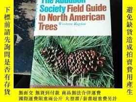 二手書博民逛書店The罕見Audubon Society Field Guide to North American Trees奇