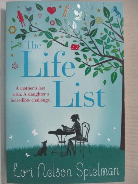 【書寶二手書T1/原文小說_A4W】The Life List_Lori Nelson Spielman