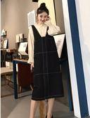胖胖唯依L-4XL中大尺碼洋裝連身裙28625秋裝新款大碼女裝時髦套裝減齡胖妹妹顯瘦兩件套