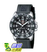 [美國直購 ShopUSA] Luminox Navy Seal Steel Colormark 3150 Watch Black/White PU Rubber$13749