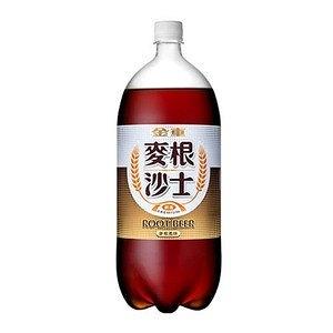 金車麥根沙士2000ml【康鄰超市】