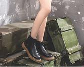 馬丁靴切爾西小短靴女秋冬季新款馬丁靴英倫風韓版百搭短筒 年終狂歡