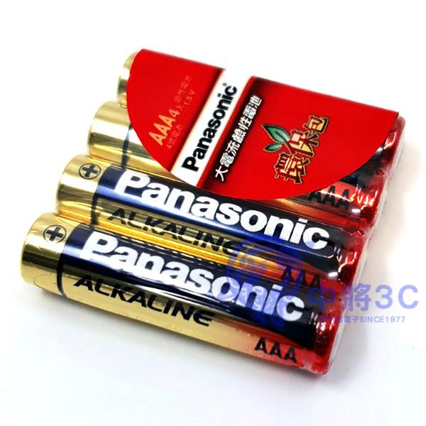 【中將3C】Panasonic大電流鹼性電池 4號4入   .LR03TTS/4S-4PC