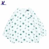 【三折特賣】American Bluedeer - 細褶袖印花衣 秋冬新款