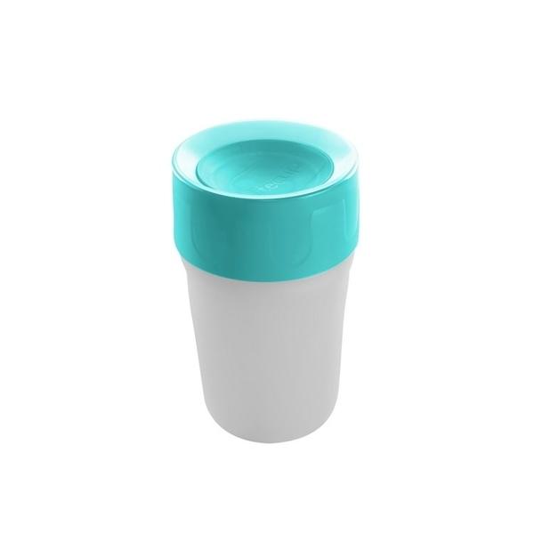 【英國litecup】發光不灑杯 幼兒夜燈水杯冰雪藍