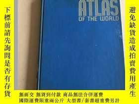 二手書博民逛書店Rand罕見McNally Ready-Reference Atlas of the World(蘭德麥克納利參考