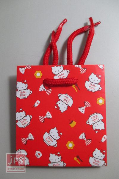 Hello Kitty 凱蒂貓 迷你提袋 小禮物袋 紅色 SR-PG126